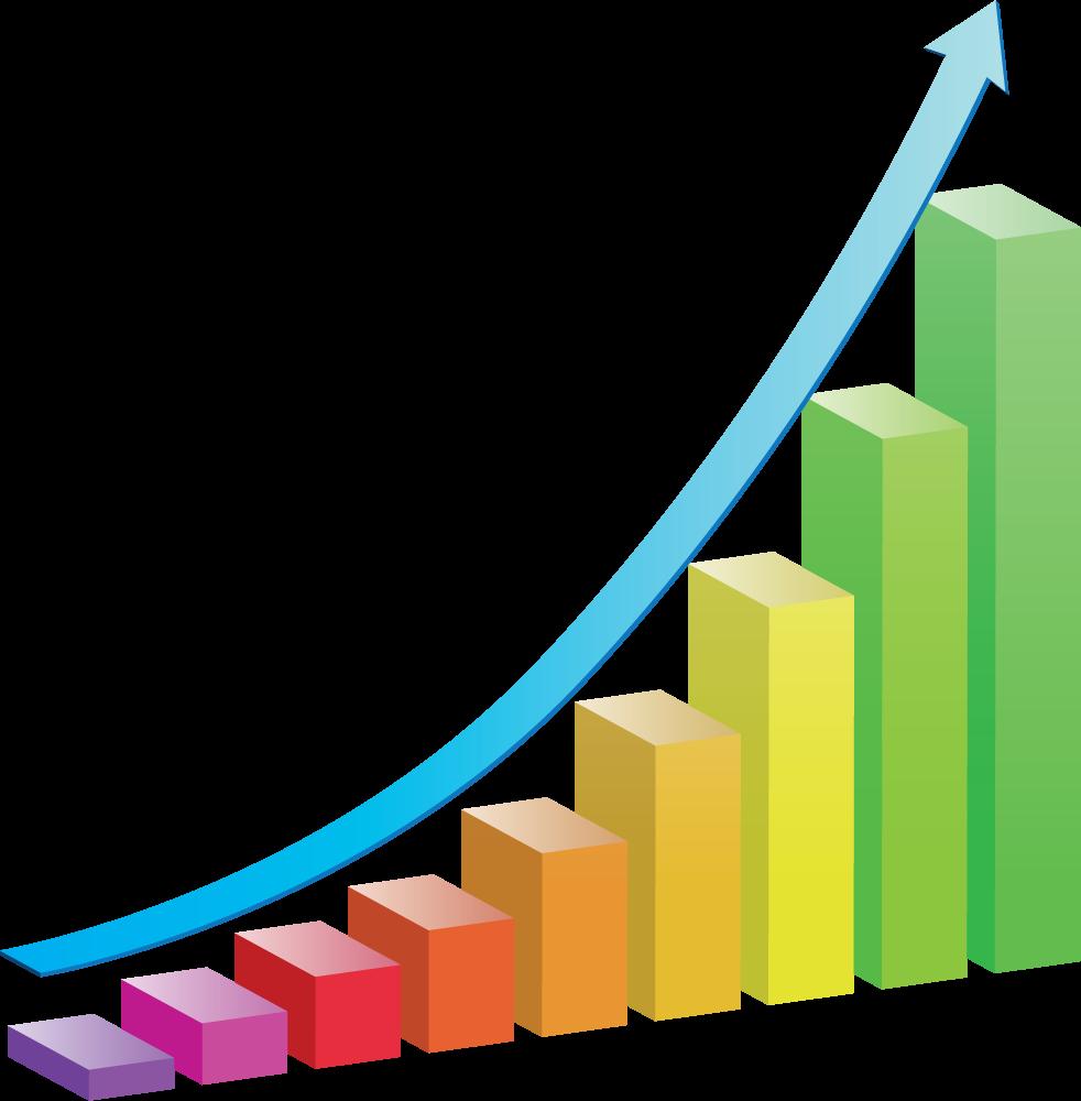 Economic development clip art. Growth clipart growth chart