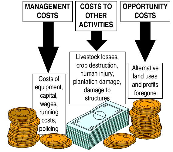 The total economic costs. Economics clipart expenditure