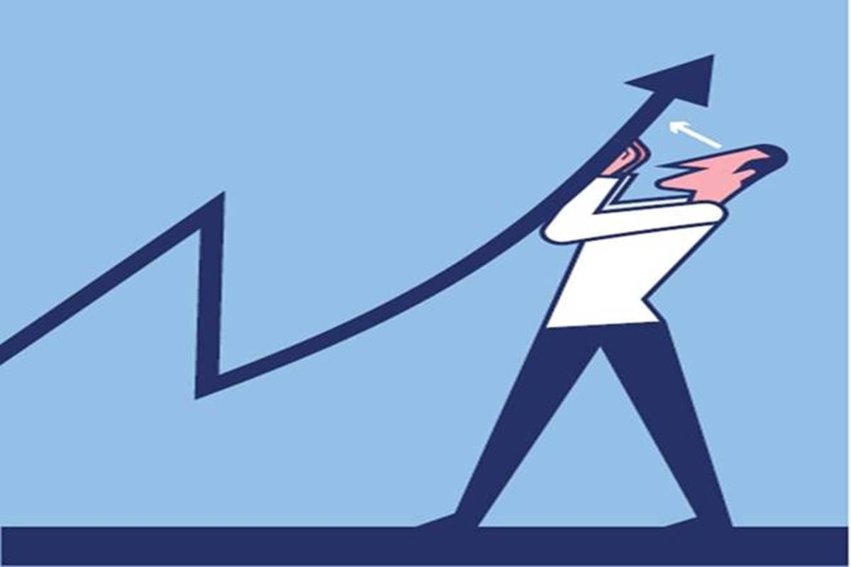 Economic slowdown back to. Economy clipart growth rate
