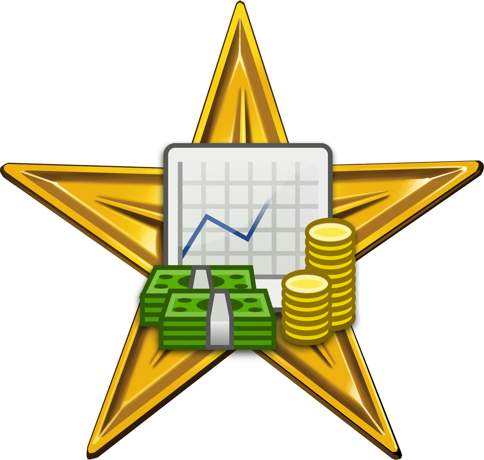 Collection of free costing. Finance clipart revenue