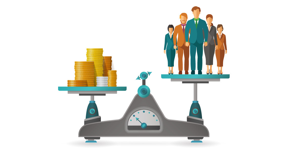 How to measure human. Economics clipart labor cost