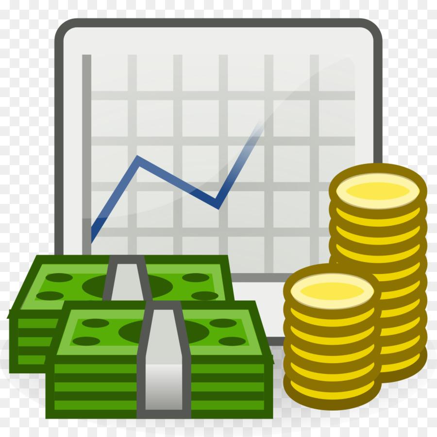 Yellow background economy . Economics clipart supply