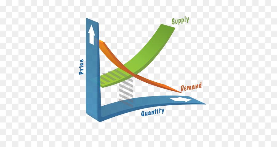 Economics clipart supply demand. Line logo market text
