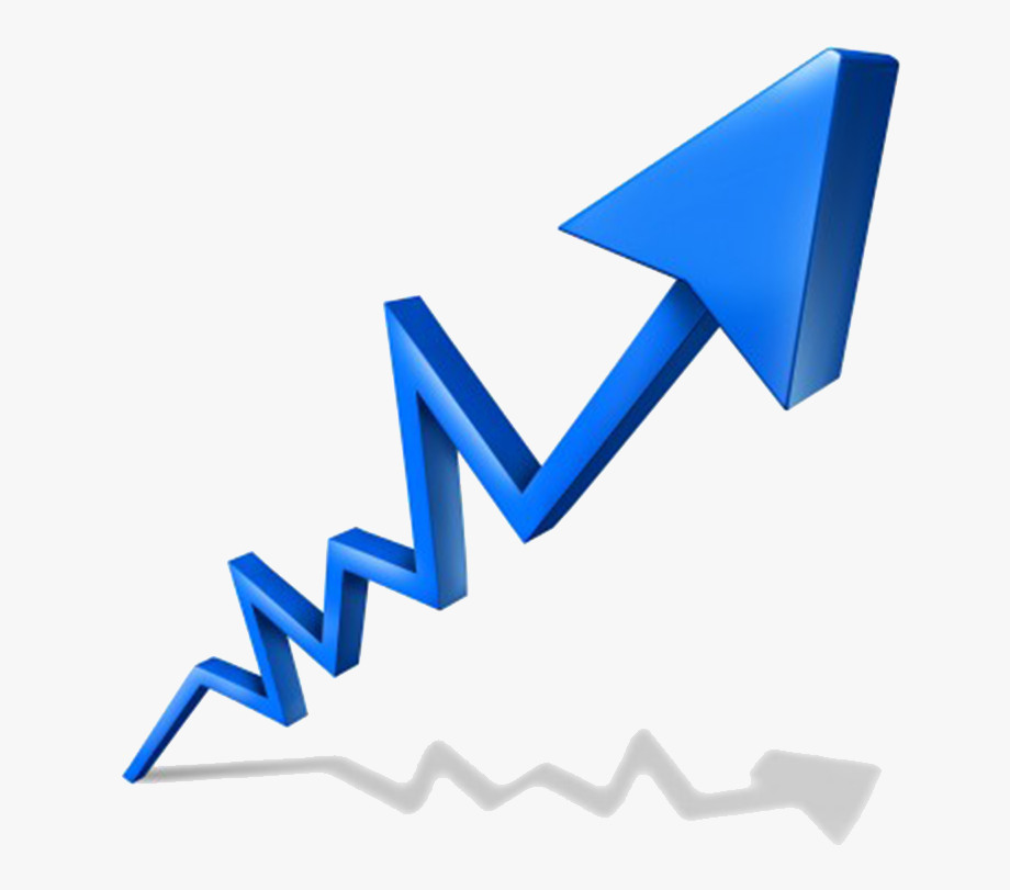 Economy clipart arrow. Transparent is booming cliparts
