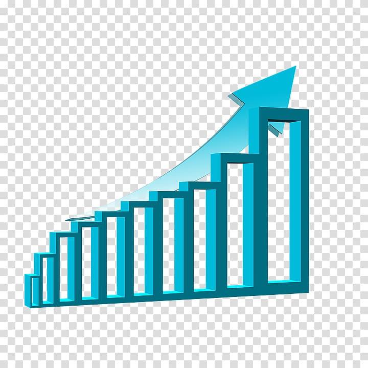 Blue arrowhead illustration economics. Economy clipart arrow