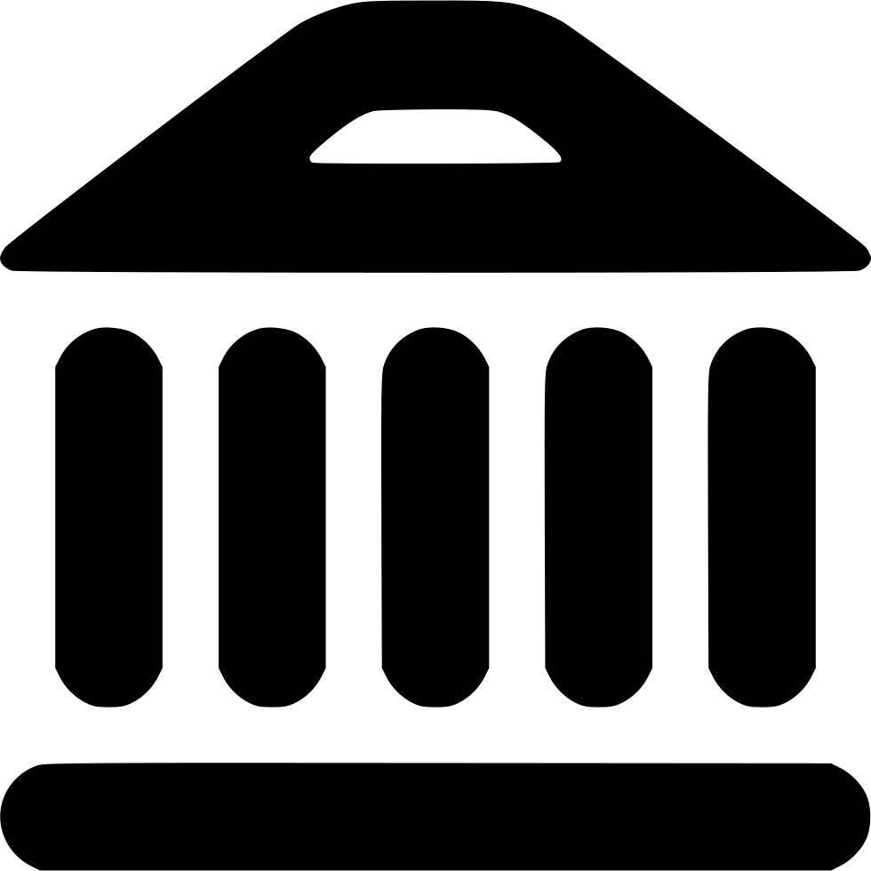 Bank trade building money. Finance clipart economy us
