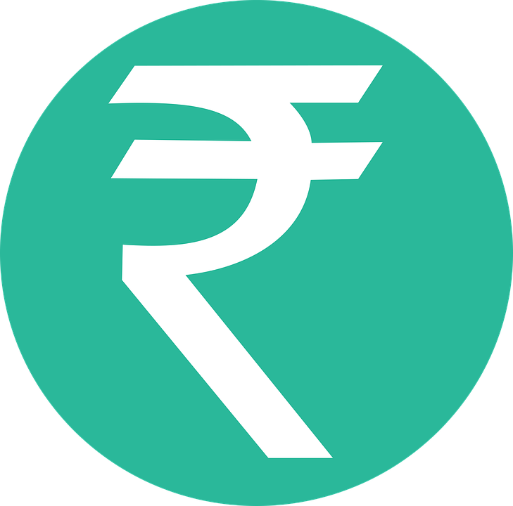 Economy clipart dollar cent. Rupee falls to an