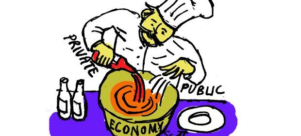 Intolerable acts clipart economic freedom. Myths the mixed economy