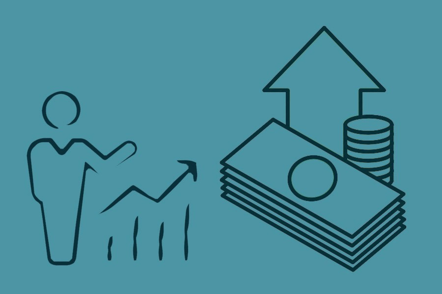 Rises to . Financial clipart per capita income