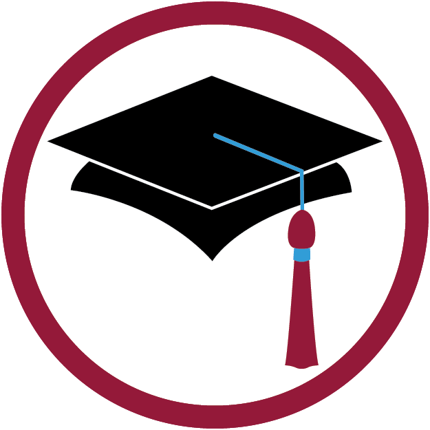 Education clipart education icon. Going to college with