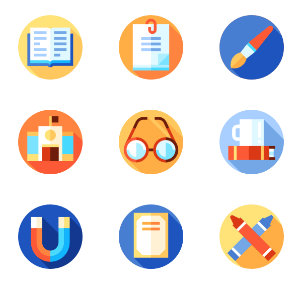 rules packs vector. Education icon png