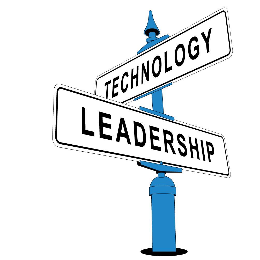 The gap in leadership. Education clipart educational technology