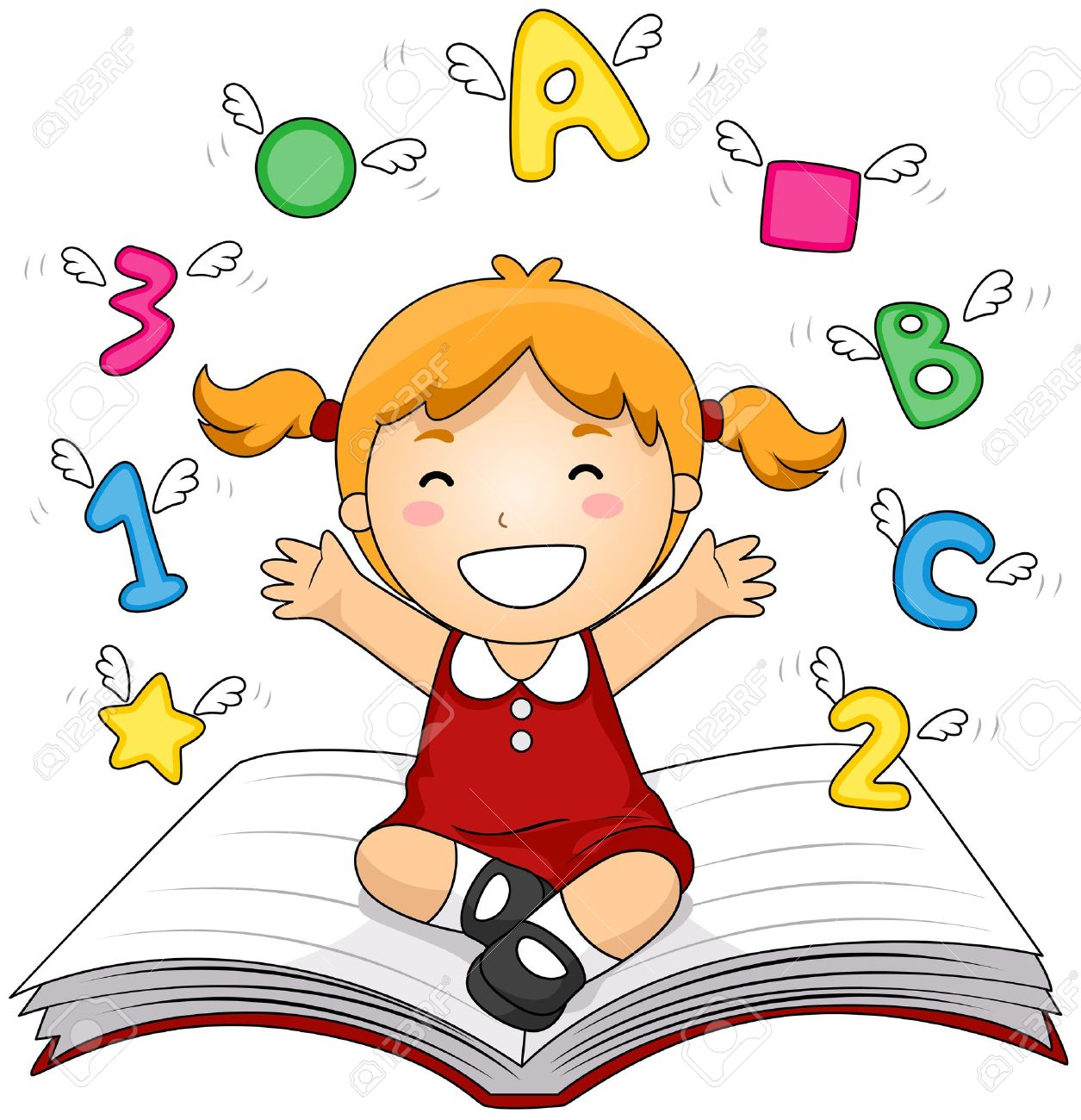 Kids clipart education. Clip art for learning