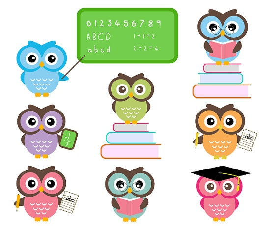 Free owl school download. Owls clipart education