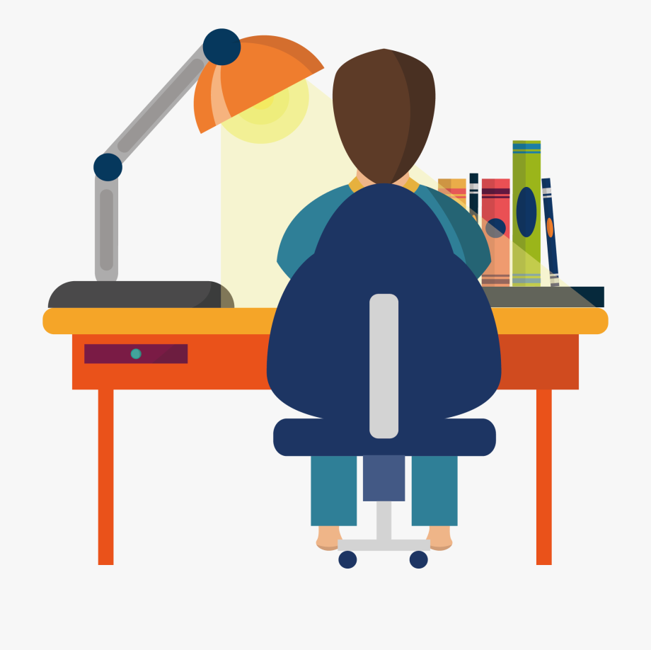 Education clipart study. Student learning job png