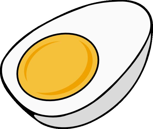 Half clip art at. Egg clipart