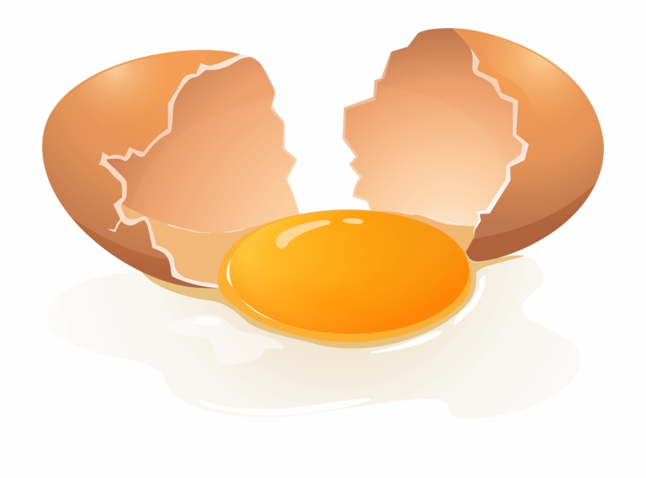 Eggs clipart transparent background. Broken egg png clip