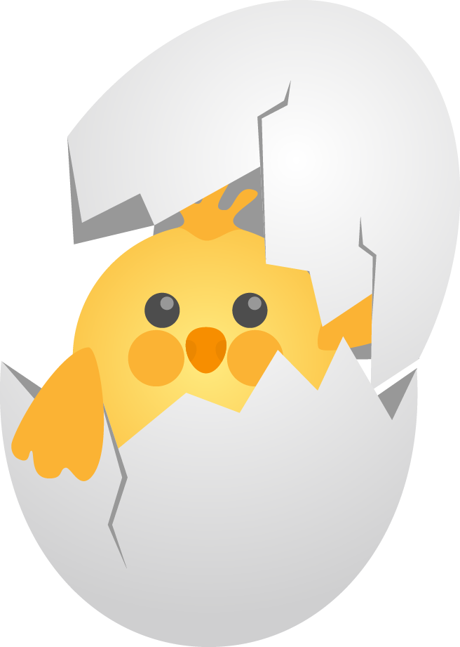 Egg clipart egg shell. Chicken eggshell cute cartoon