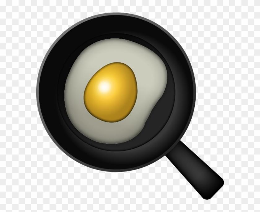 Emoji clipart egg. Fried png transparent free
