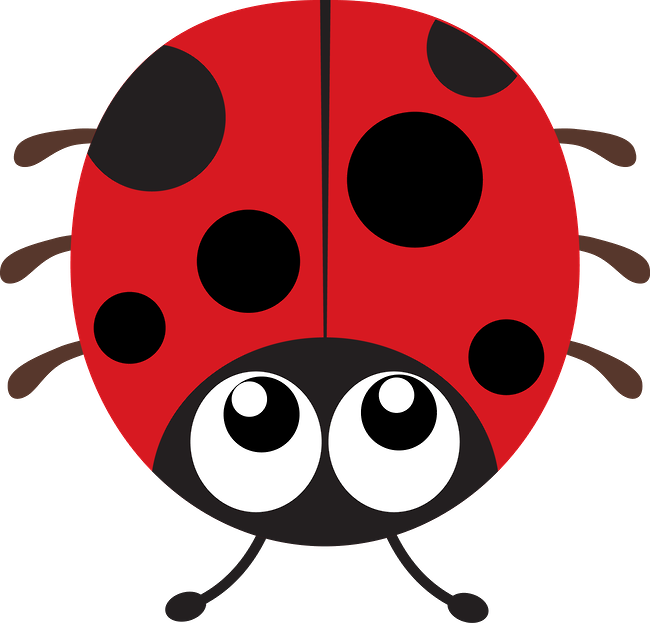 Ladybugs simple shape