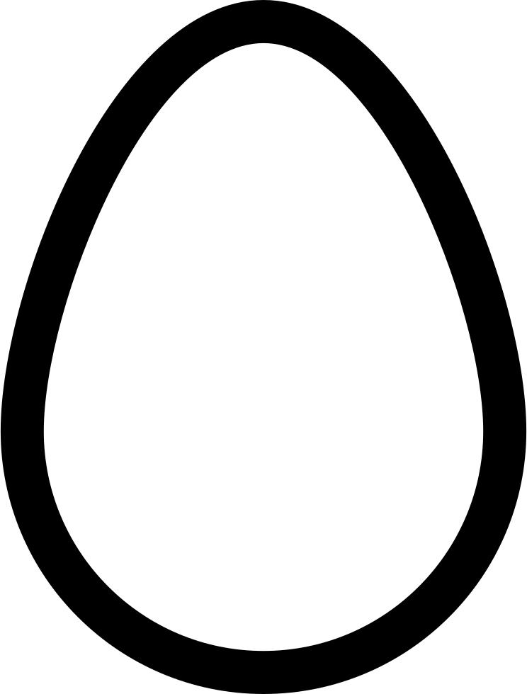 Egg Clipart Outline Egg Outline Transparent Free For Download On Webstockreview 2020