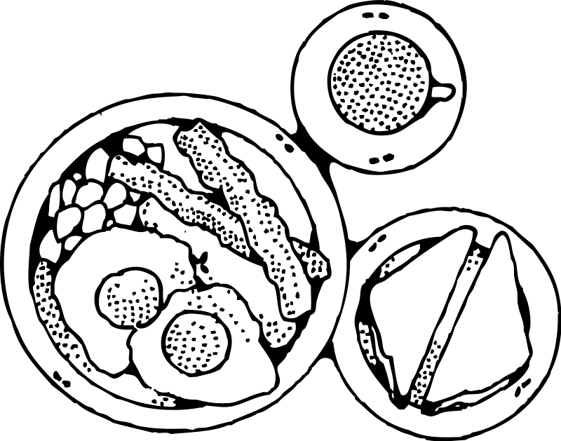Breakfast panda free images. Ham clipart green eggs