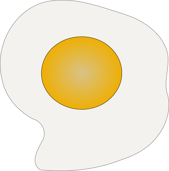 Sunny Side Up Eggs Clip Art at Clker