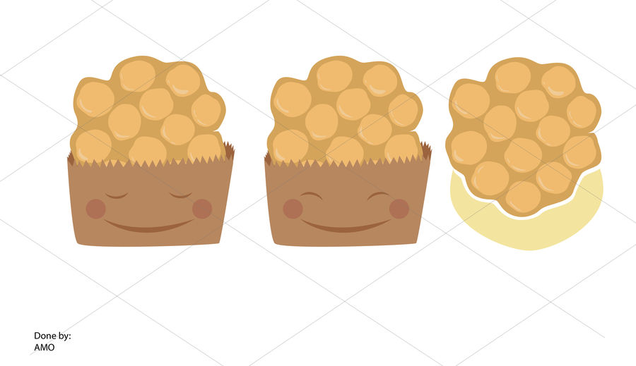 Waffle clipart egg. Entry by amomultimedia for