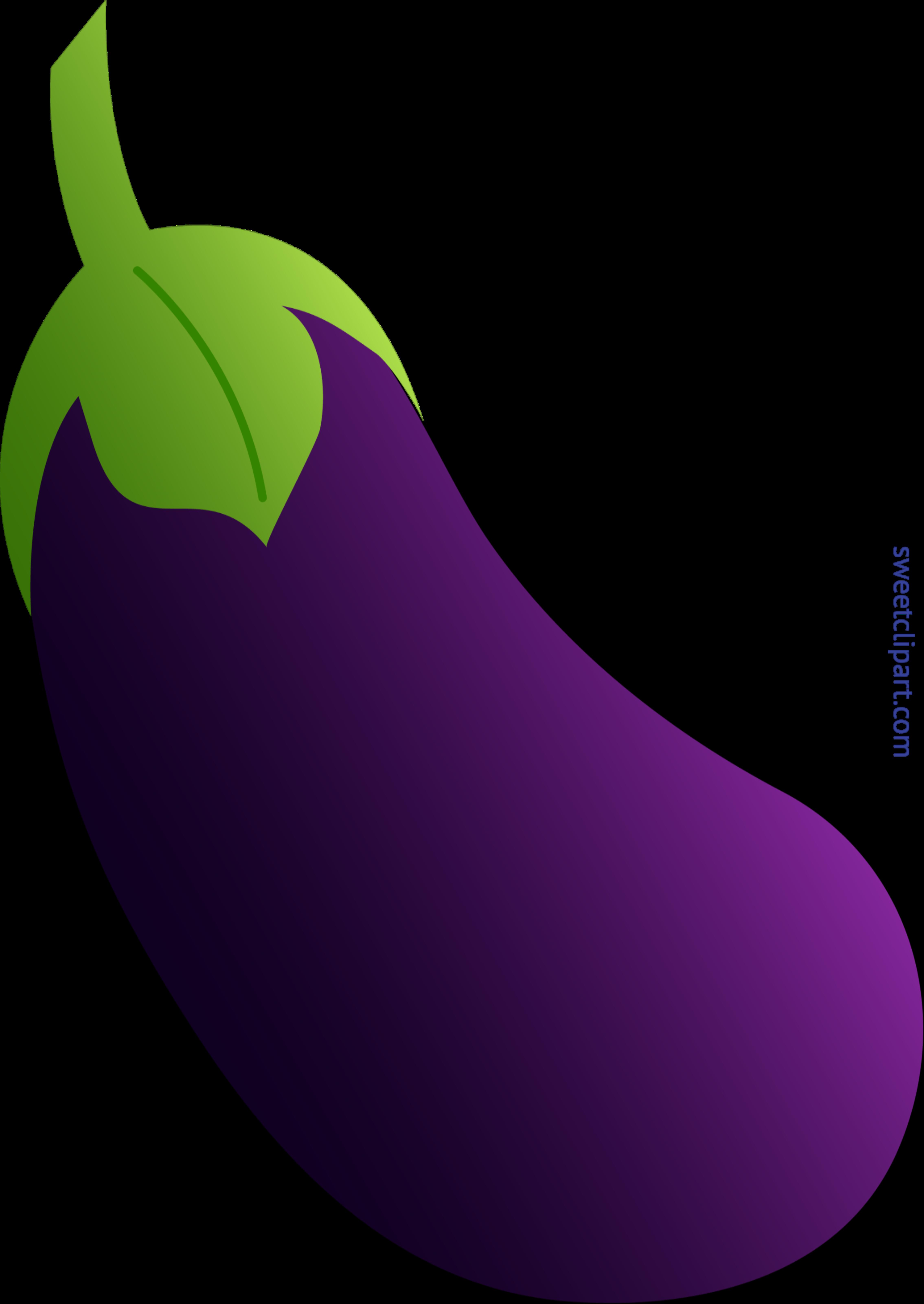 Clip art sweet. Eggplant clipart