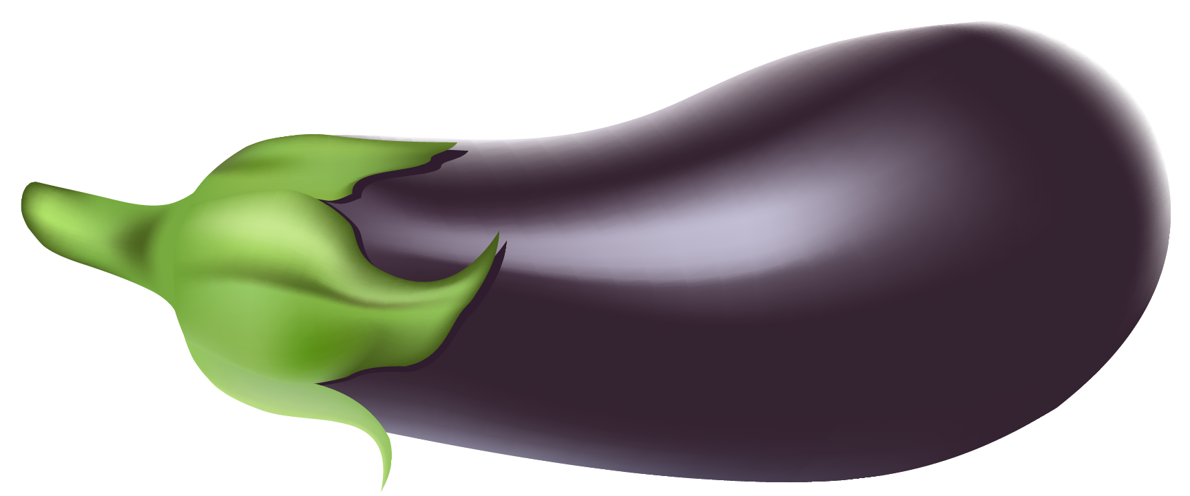 Eggplant clipart. Png picture gallery yopriceville