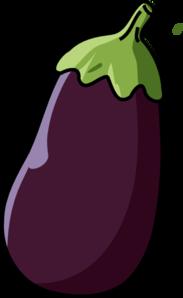 Clip art at clker. Eggplant clipart
