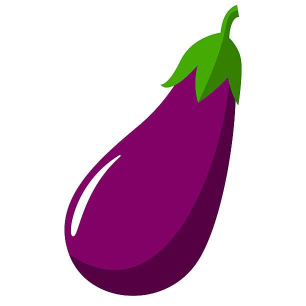 Station. Eggplant clipart
