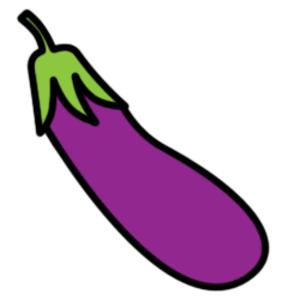 Eggplant clipart. Free cliparts download clip