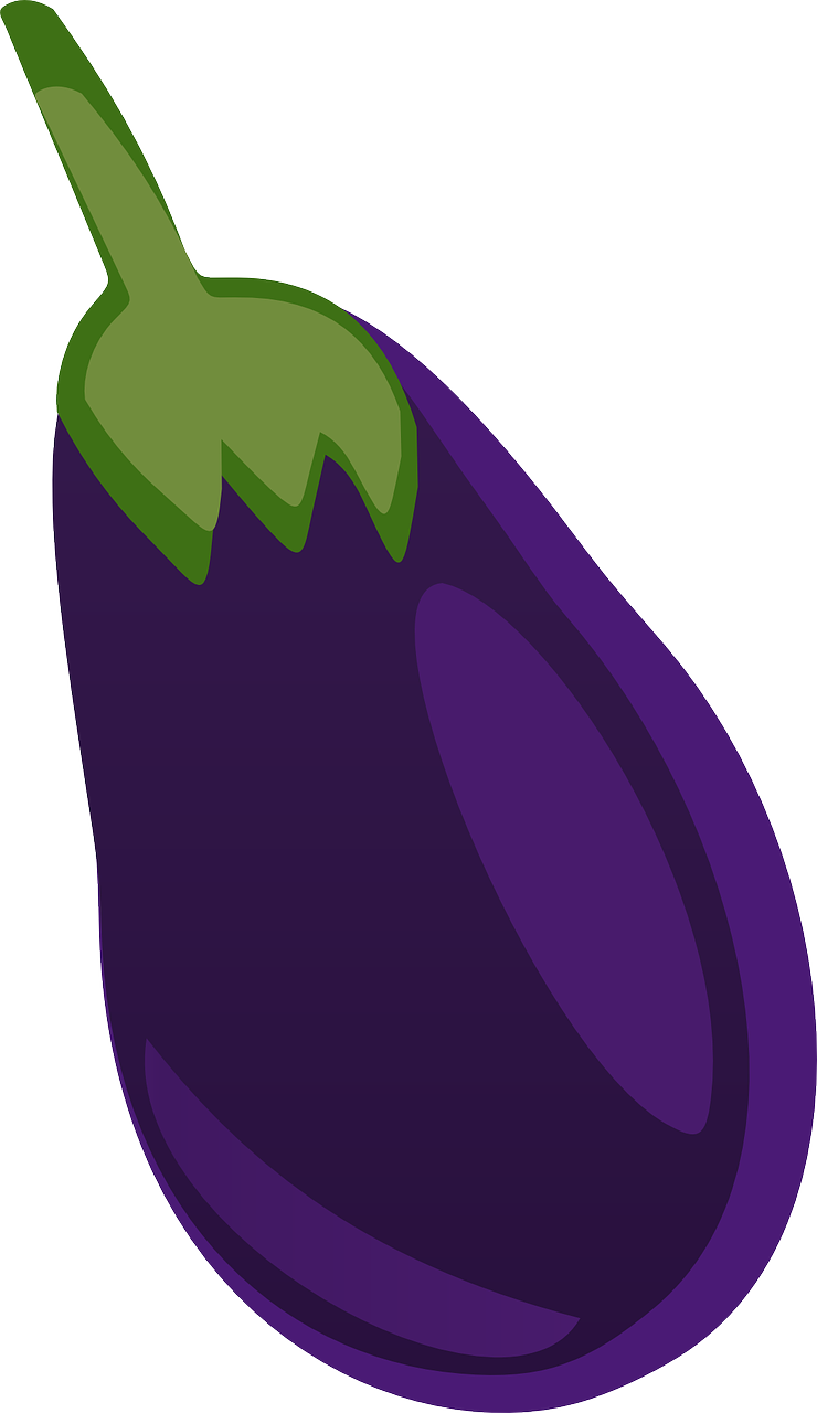 Purple clipart brinjal.  collection of eggplant