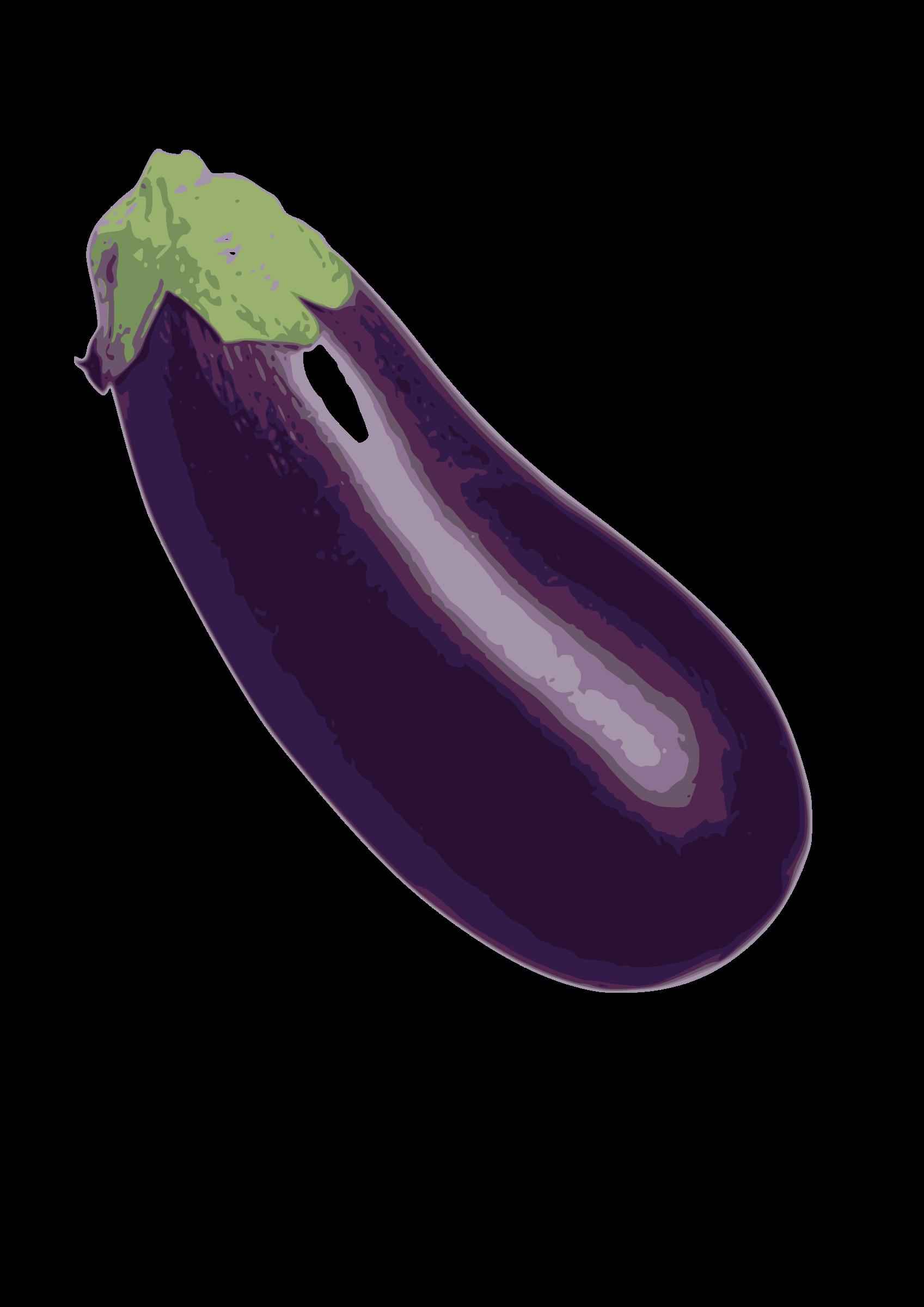 Eggplant. Purple clipart brinjal