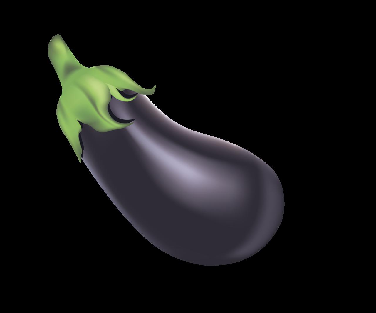 Eggplant purple food