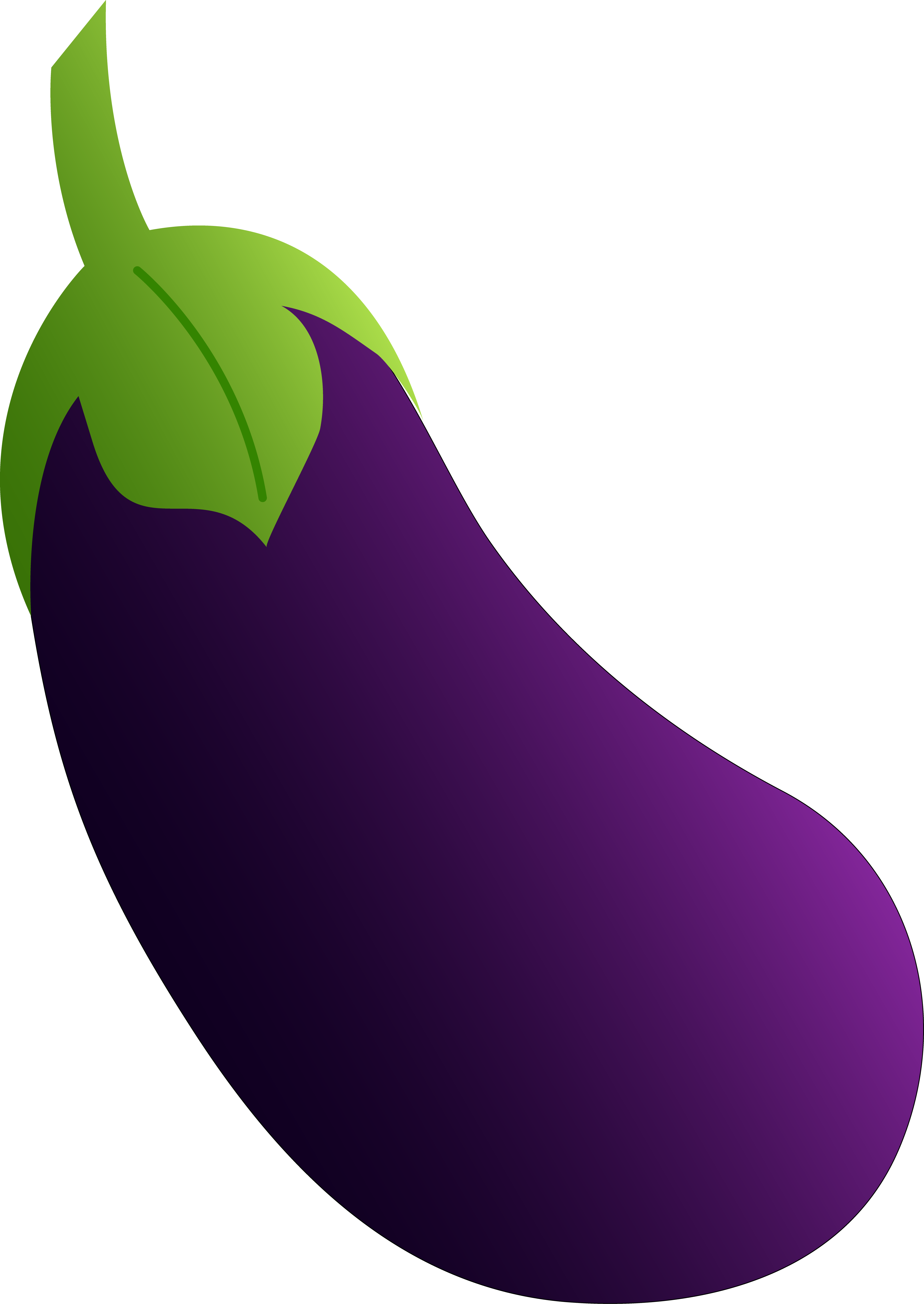 Aubergine a project by. Eggplant clipart single vegetable