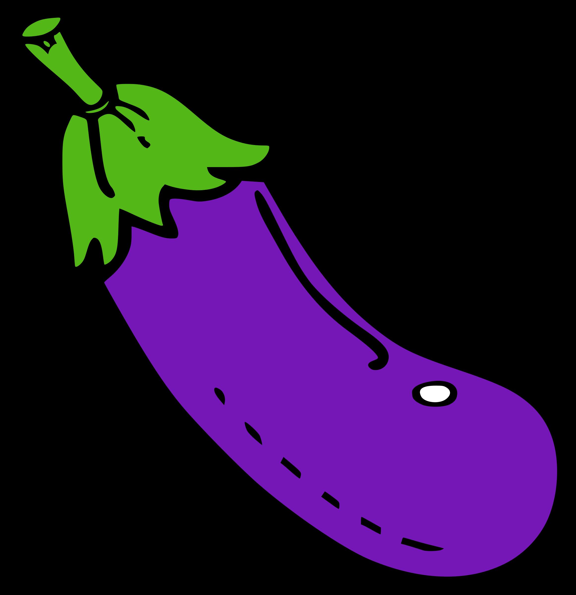 Eggplant big image png. Purple clipart brinjal