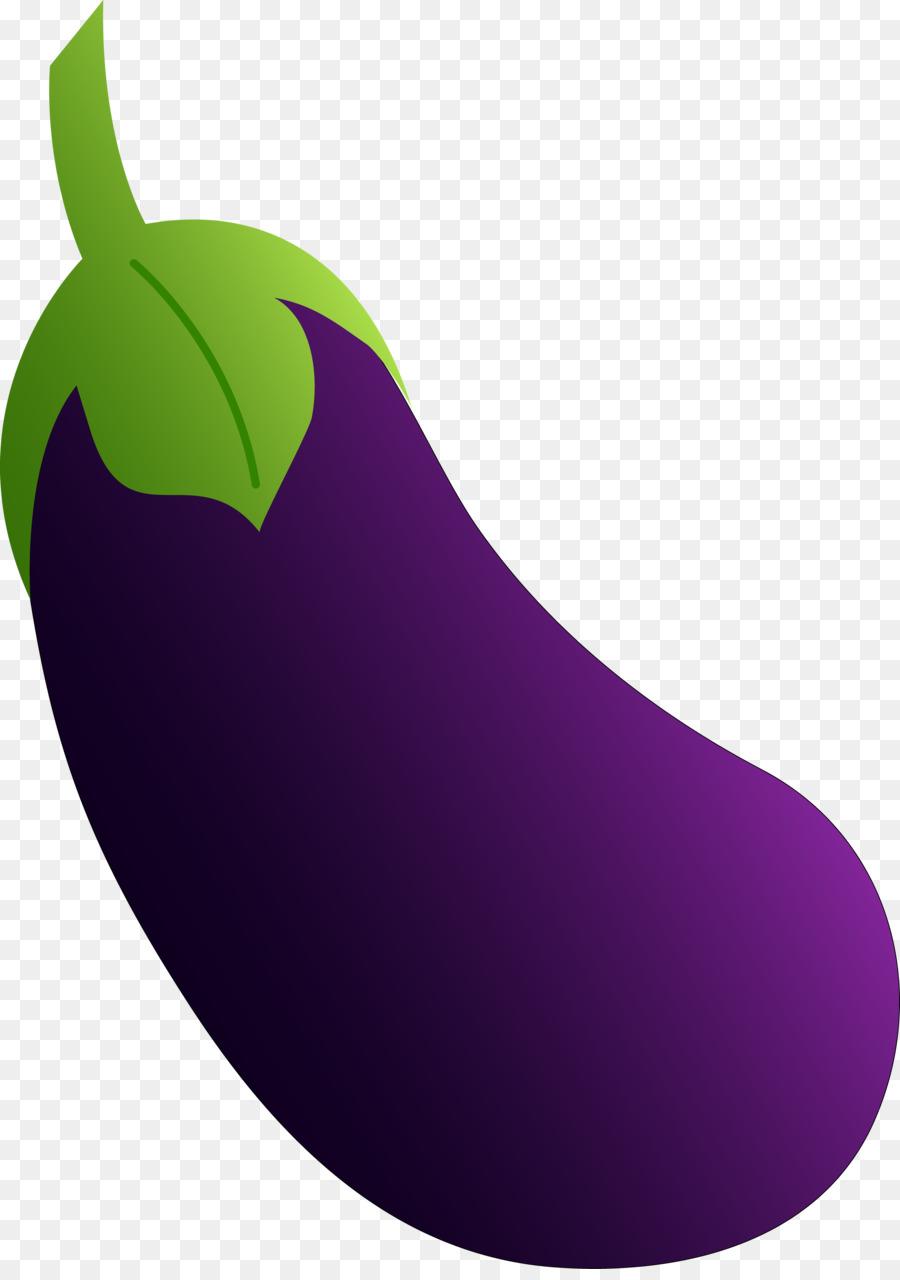 Cartoon fruit . Eggplant clipart vegetable