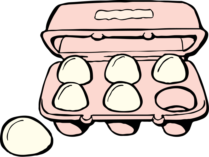 Eggs clipart. Carton of panda free