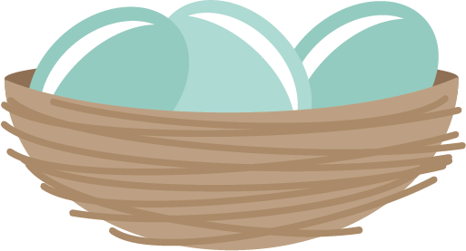 Eggs clipart nest. Free nestegg cliparts download