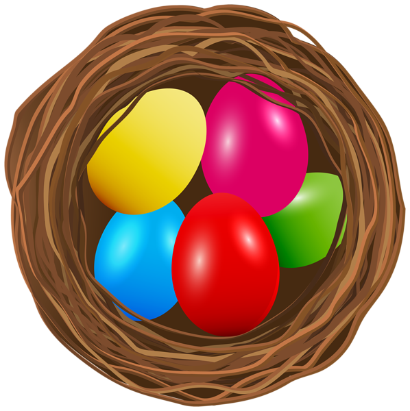 Eggs clipart nest. Gallery easter pictures png