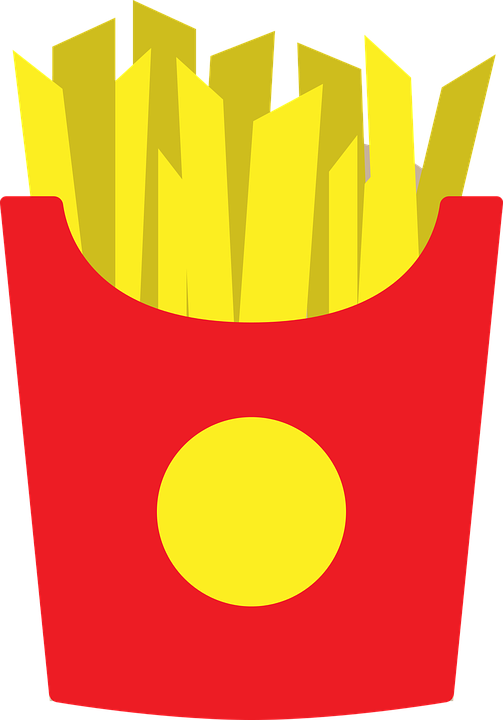 Fries clipart cute. Collection of free fried