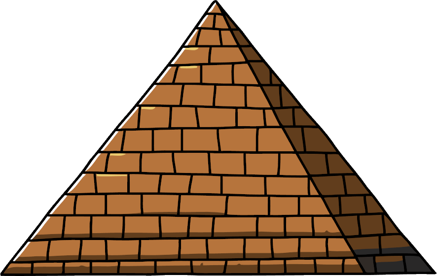 Png transparent images pluspng. Triangular clipart pyramid