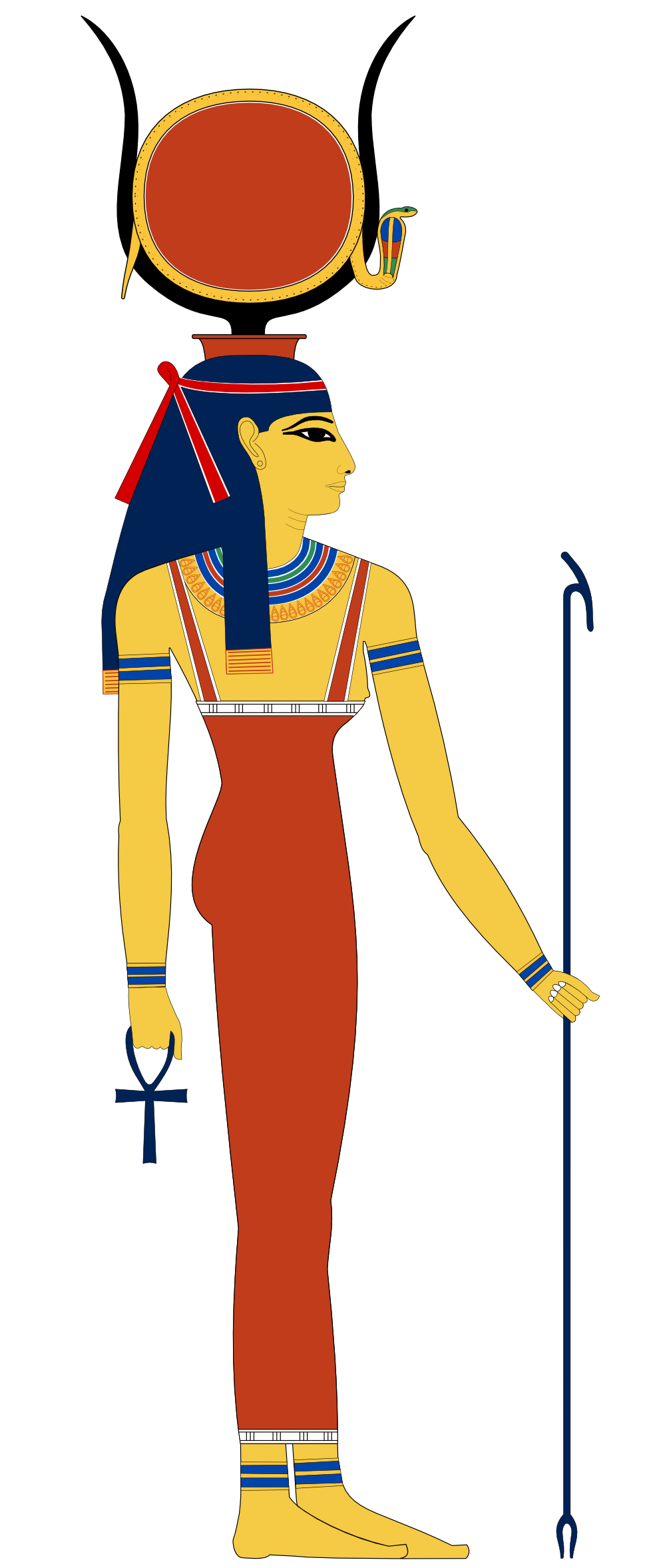 Egypt clipart africa ancient. Hathor svg k counted