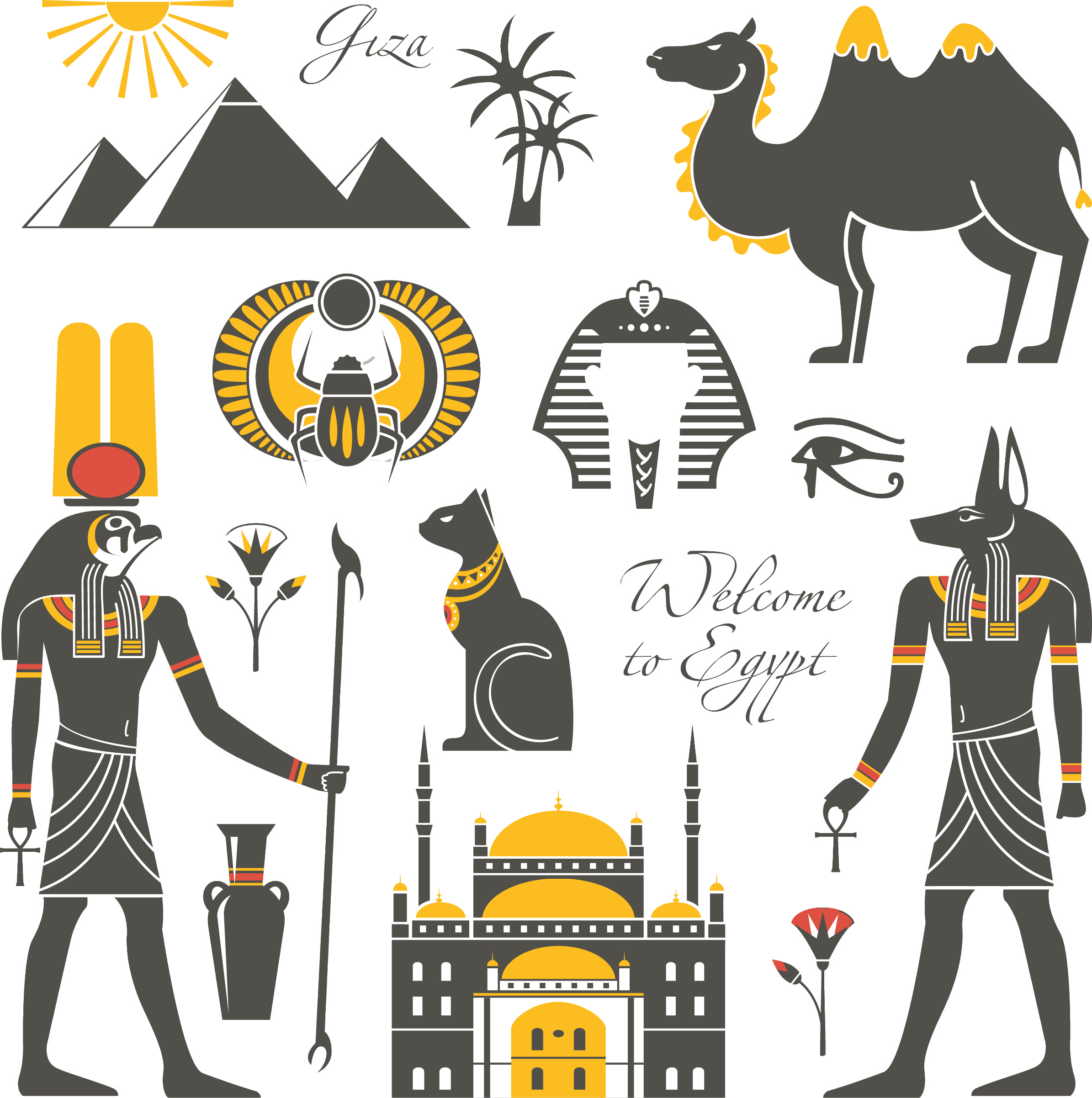 Egypt clipart africa ancient. Icon features transprent png
