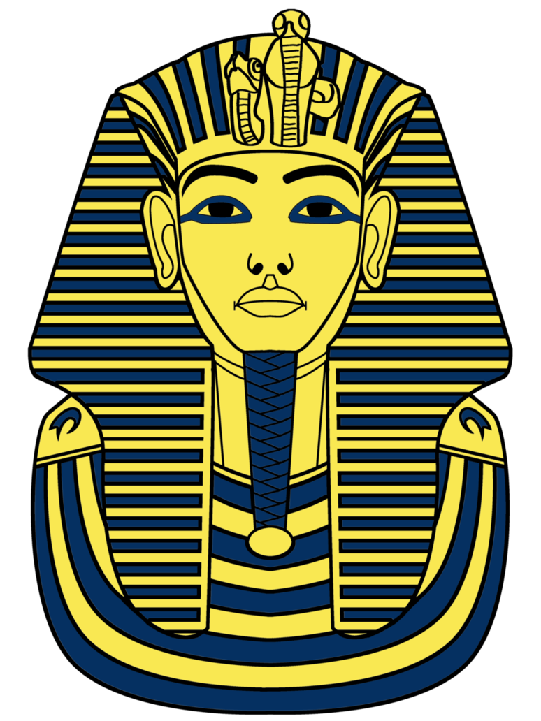 Egypt clipart cool. Mask egyptian pencil and