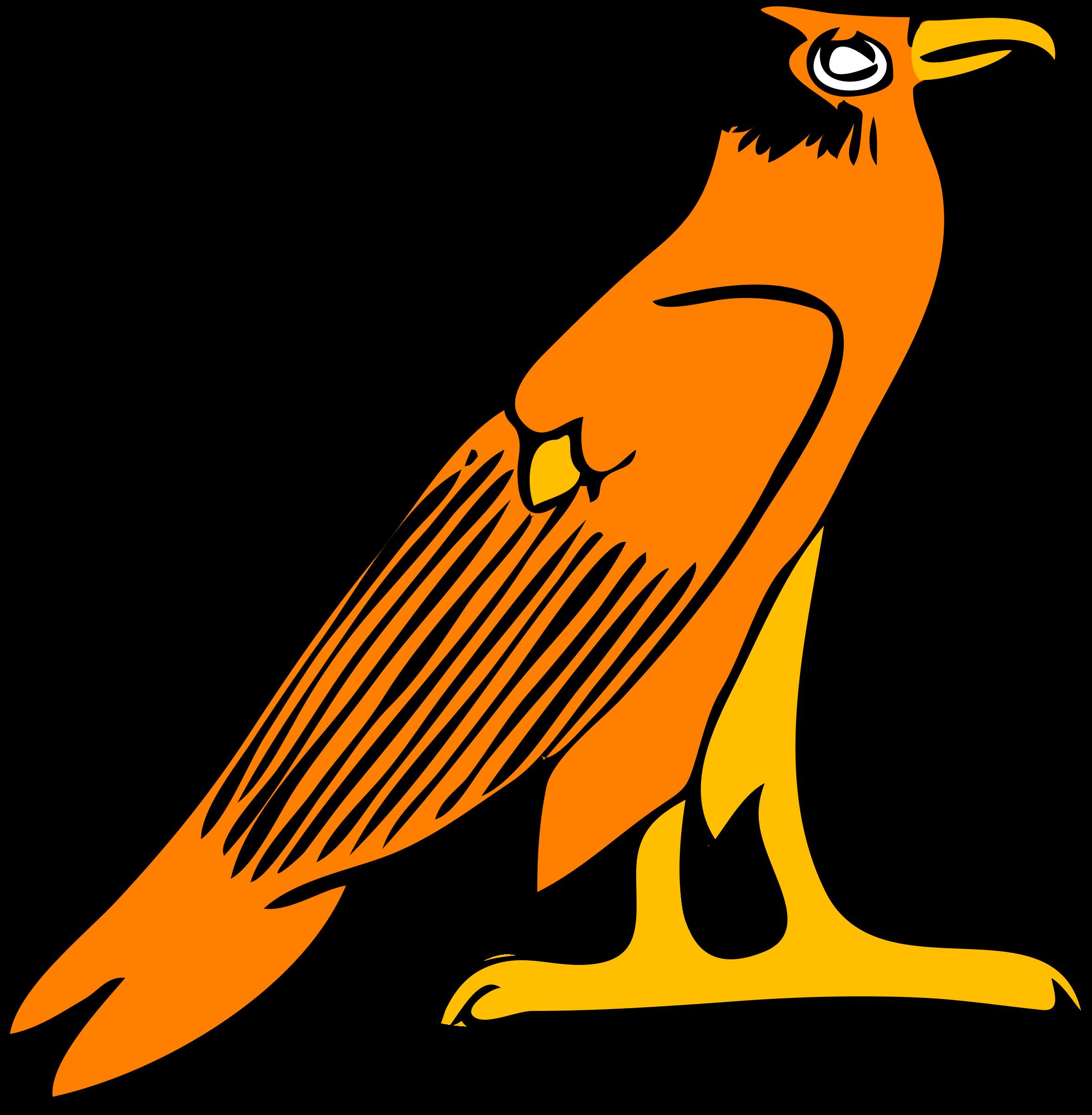 Architetto simbolo egizio big. Falcon clipart falcon bird