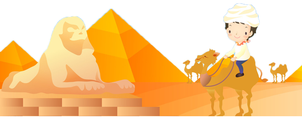 Great sphinx of giza. Egypt clipart desert pyramid
