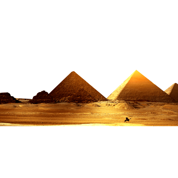 Egypt clipart desert pyramid. Gold png free images